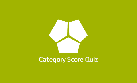 Category Score Quiz